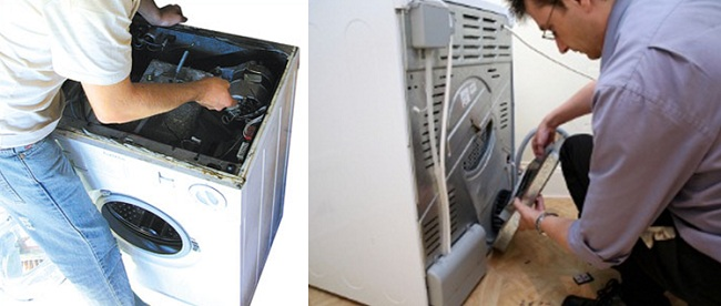 Sửa máy sấy quần áo Electrolux tại TPHCM