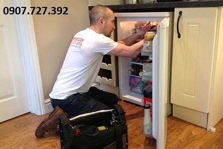 Sửa tủ lạnh không lạnh tphcm
