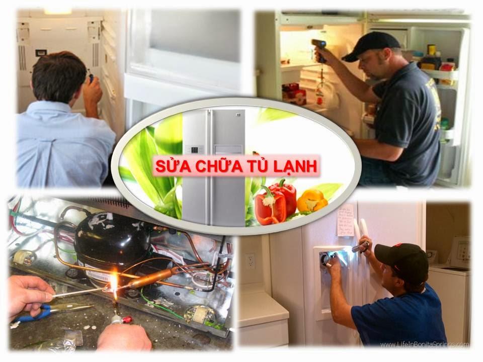Sửa tủ lạnh quận Tân Phú giá rẻ