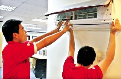 Tháo ráp máy lạnh khu vực bình chánh|lắp đặt máy lạnh huyện bình chánh