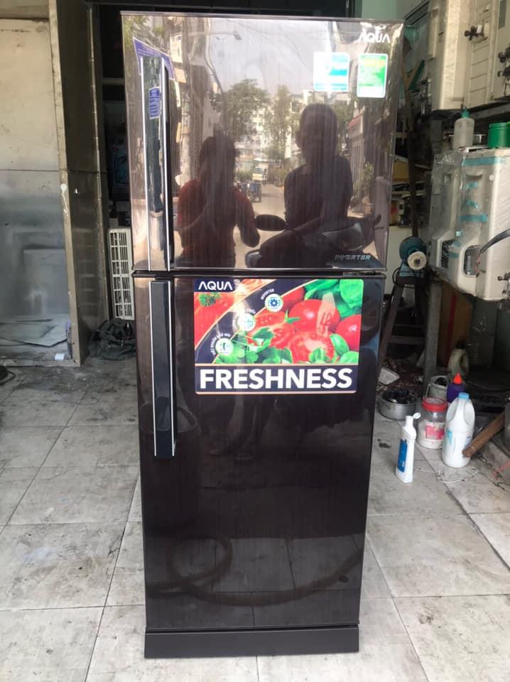Tủ lạnh Aqua (186 lít) inverter AQR-1209DN