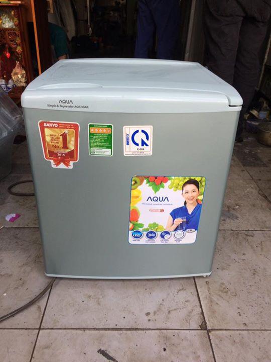 Tủ lạnh Aqua 53 lít mới 95%
