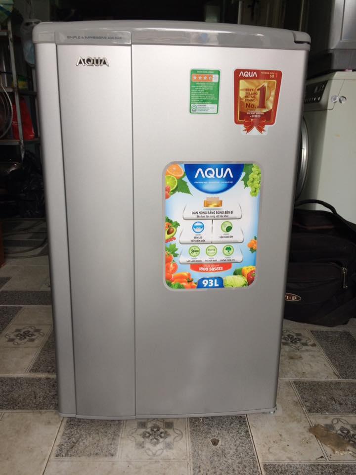 Tủ lạnh Aqua 93 lít mới 98%