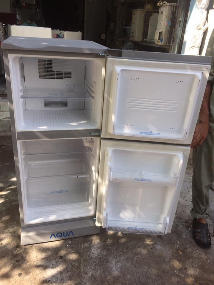 Tủ lạnh Aqua AQR-125BN(SS) 110 lít k đóng tuyết