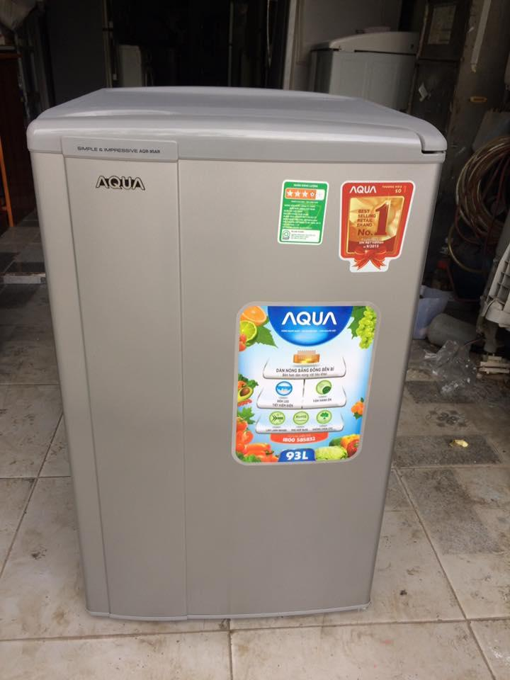Tủ lạnh Aqua AQR-95AR 93 lít mới 98%