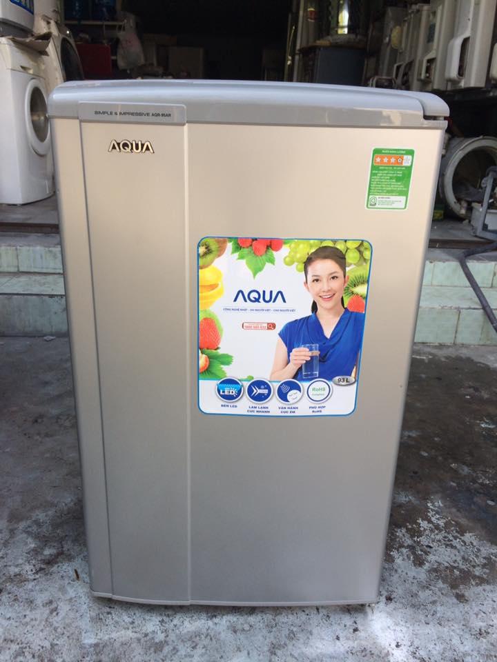 Tủ lạnh Aqua AQR-95AR(SS) 93 lít mới 97%
