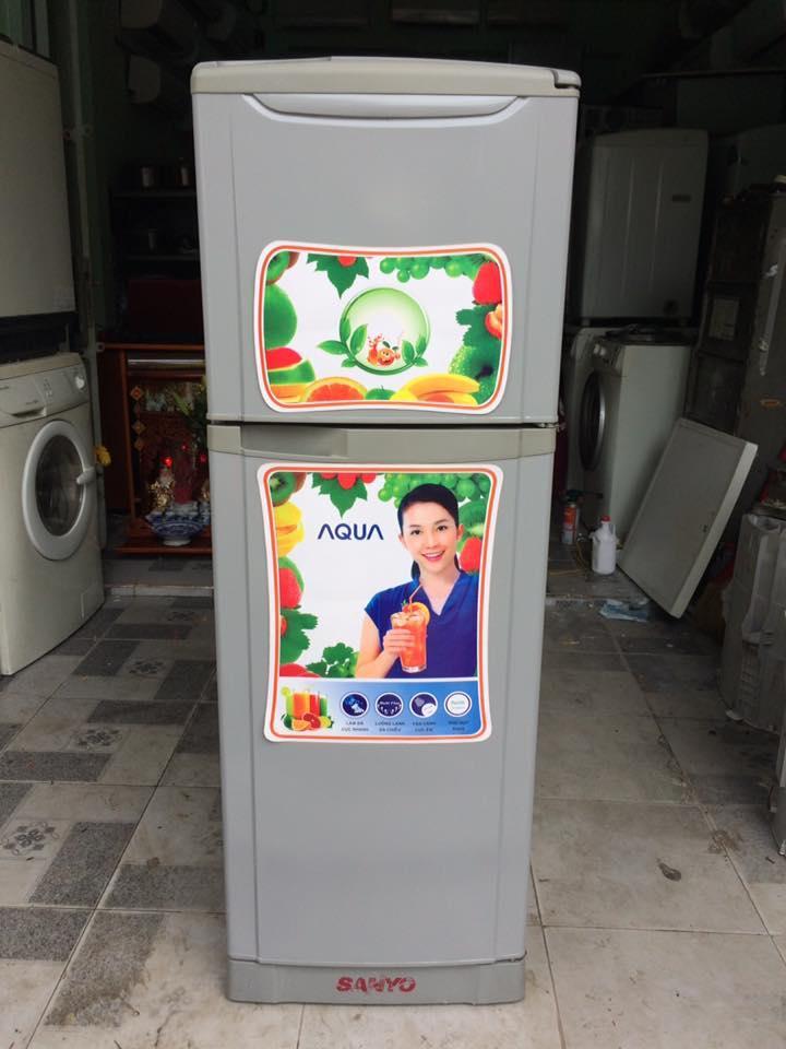 Tủ lạnh cũ Sanyo 140 lít không đóng tuyết