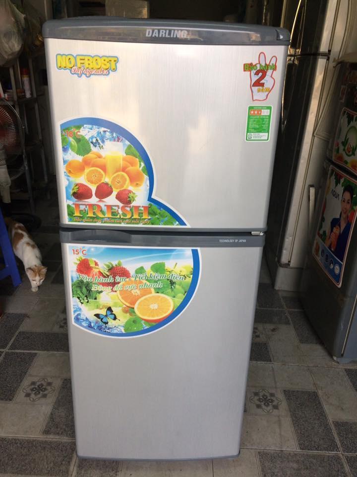 Tủ lạnh Darling DMR-158WX 140 lít mới 99%