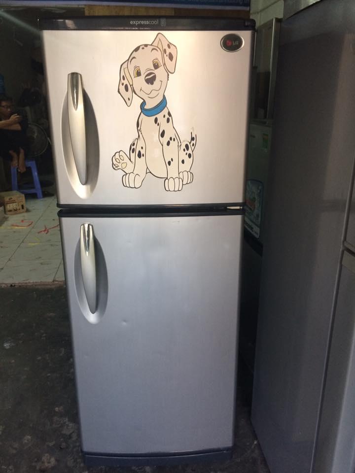 Tủ lạnh LG 180 lít không đóng tuyết mới 90%