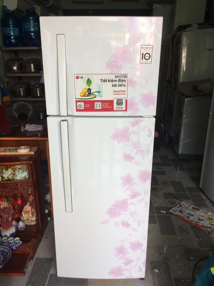 Tủ lạnh LG INVERTER GN-L222BF 209l mới 95%