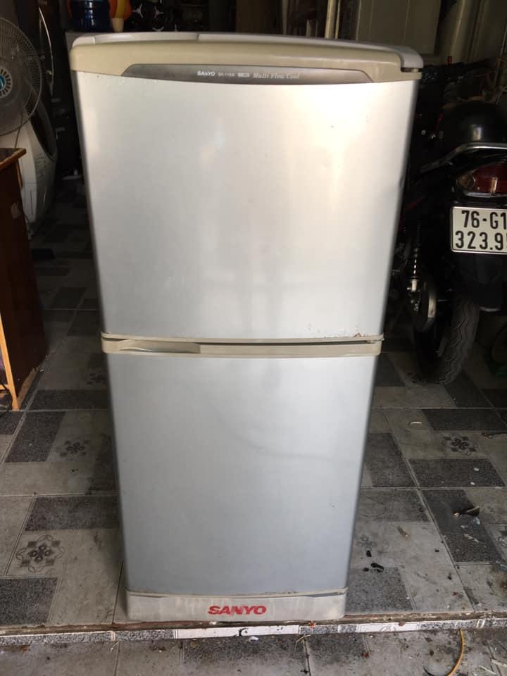 Tủ lạnh Sanyo (110 lít) k đóng tuyết
