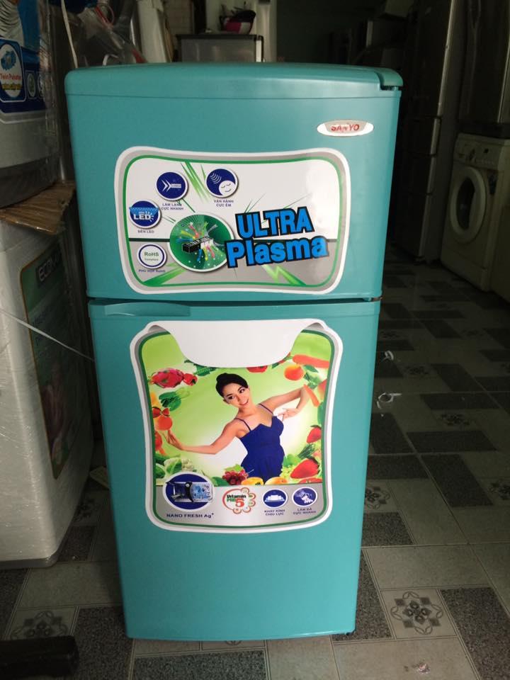 Tủ lạnh Sanyo  SR-11ED 110 lít đóng tuyết