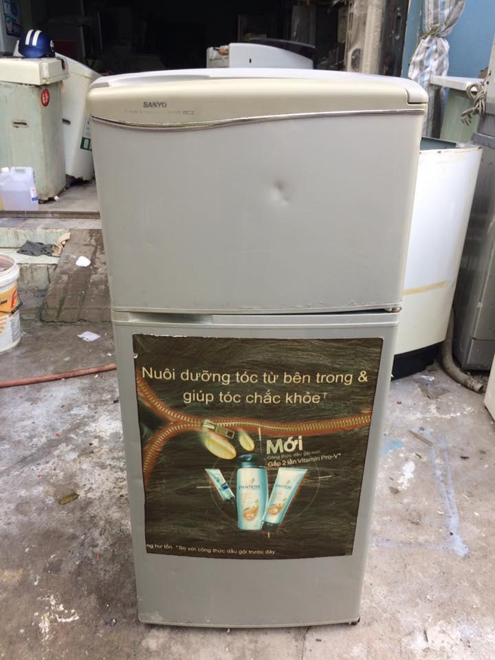 Tủ lạnh Sanyo SR-11CD (110 lít) đóng tuyết