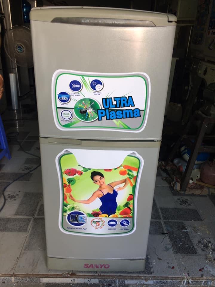Tủ lạnh Sanyo SR-11FD(110 lít) đóng tuyết