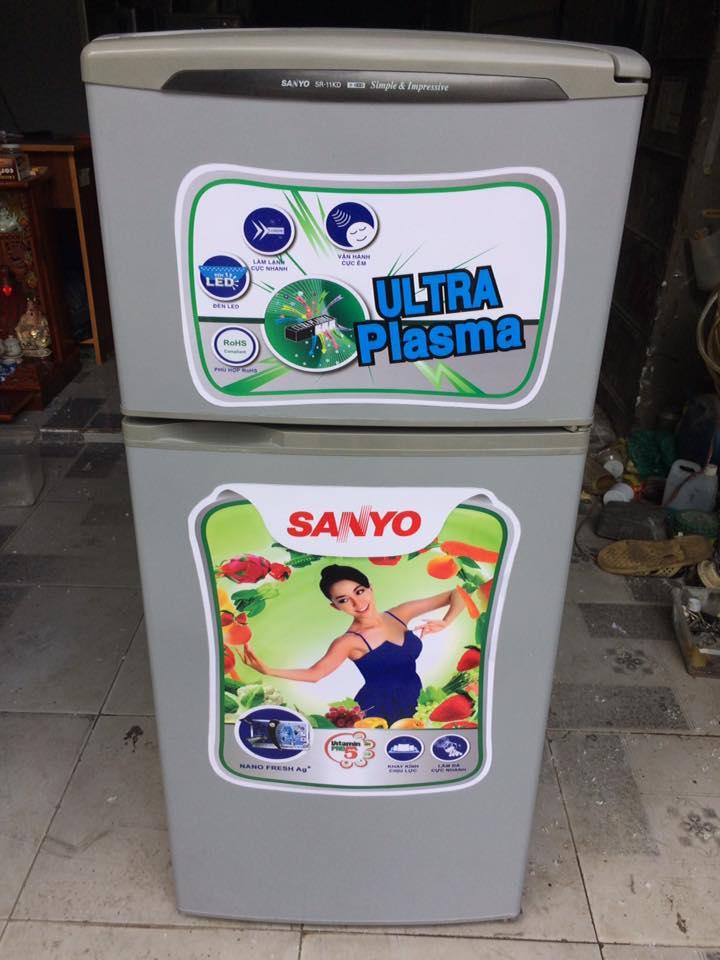 Tủ lạnh Sanyo SR-11KD (110 lít) đóng tuyết