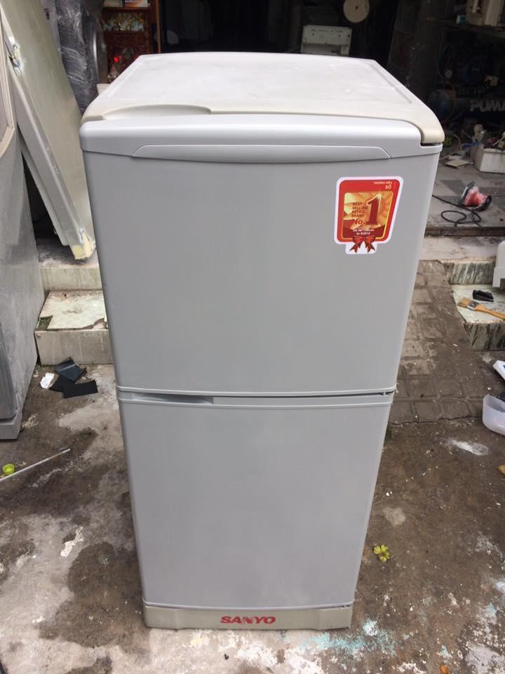 Tủ lạnh Sanyo SR-11KN(SL) 110 lít không đóng tuyết