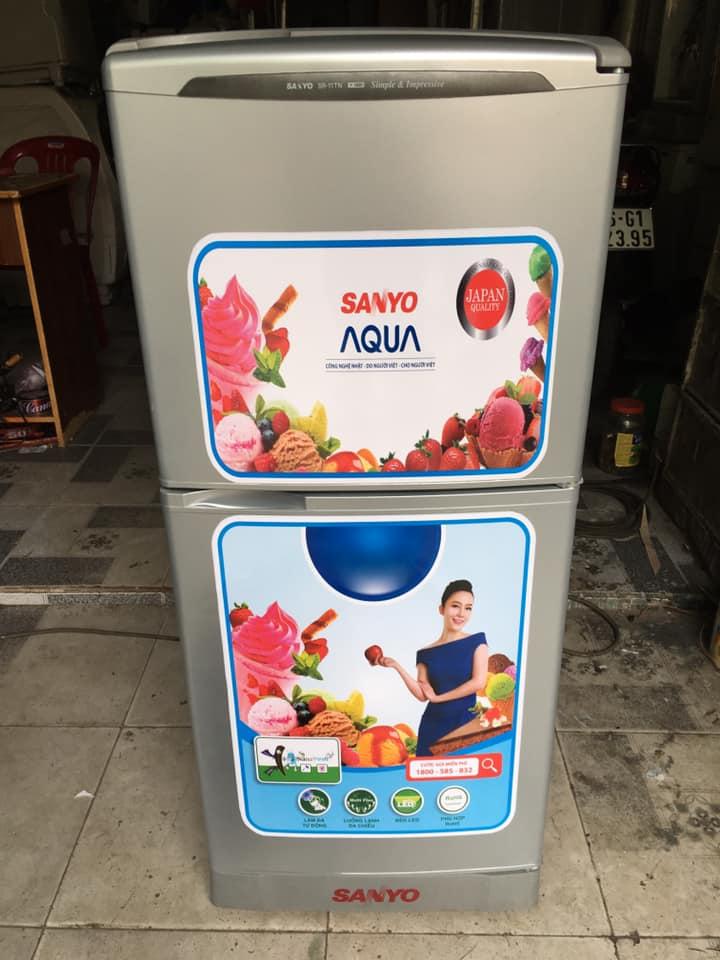 Tủ lạnh Sanyo SR-11TN (110 lít) k đóng tuyết