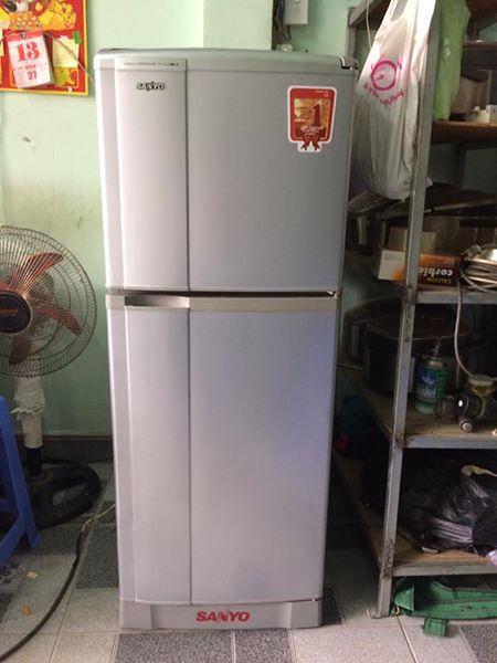 Tủ lạnh Sanyo SR-13JN (MS) 130L không đóng tuyết