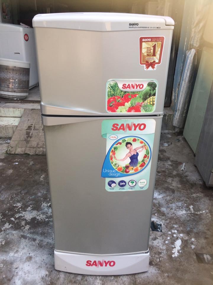 Tủ lạnh Sanyo SR-15PD(SH) 113 lít đóng tuyết