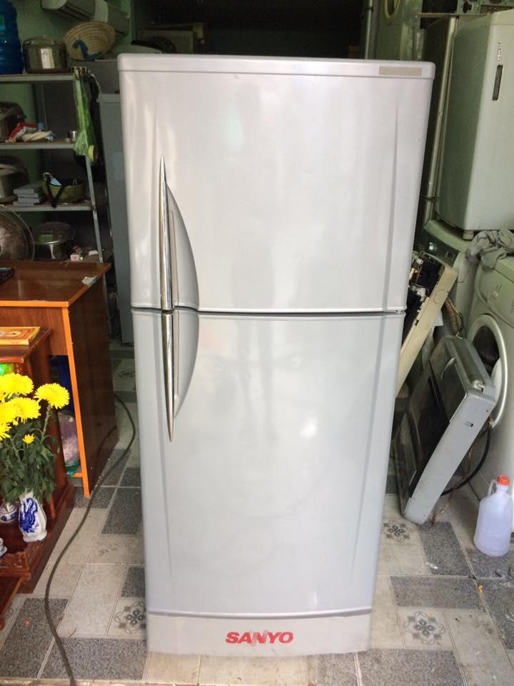 Tủ lạnh Sanyo SR-20TN(SL) 200 lít không đóng tuyết