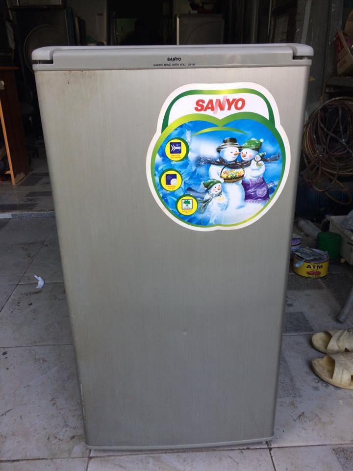 Tủ lạnh Sanyo SR-8K (S) 75 lít