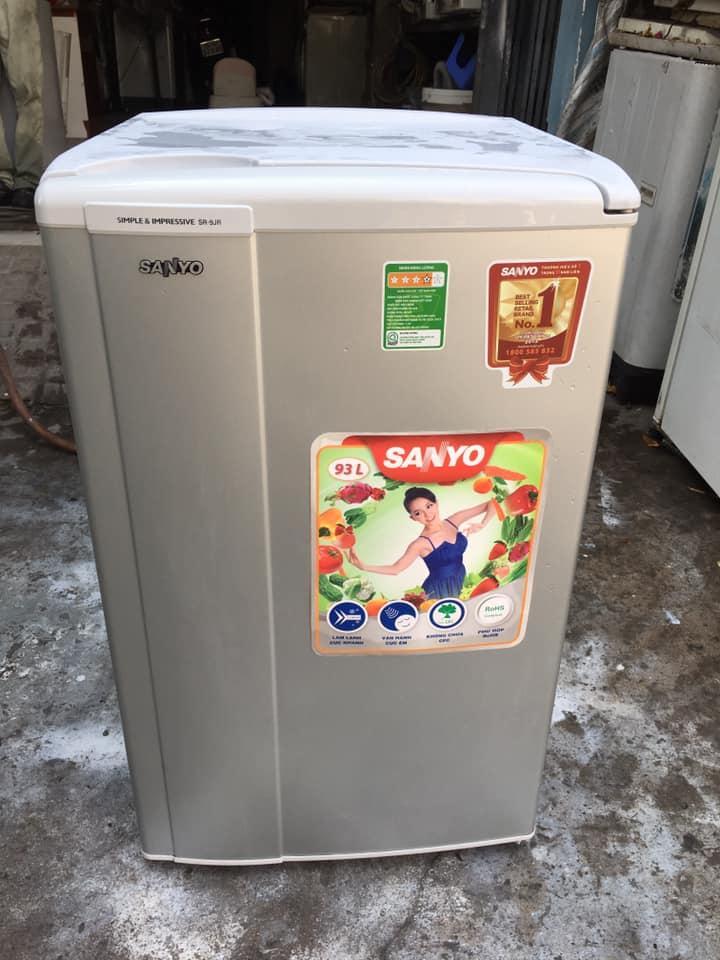 Tủ lạnh Sanyo SR-9JR (SS) 90 lít