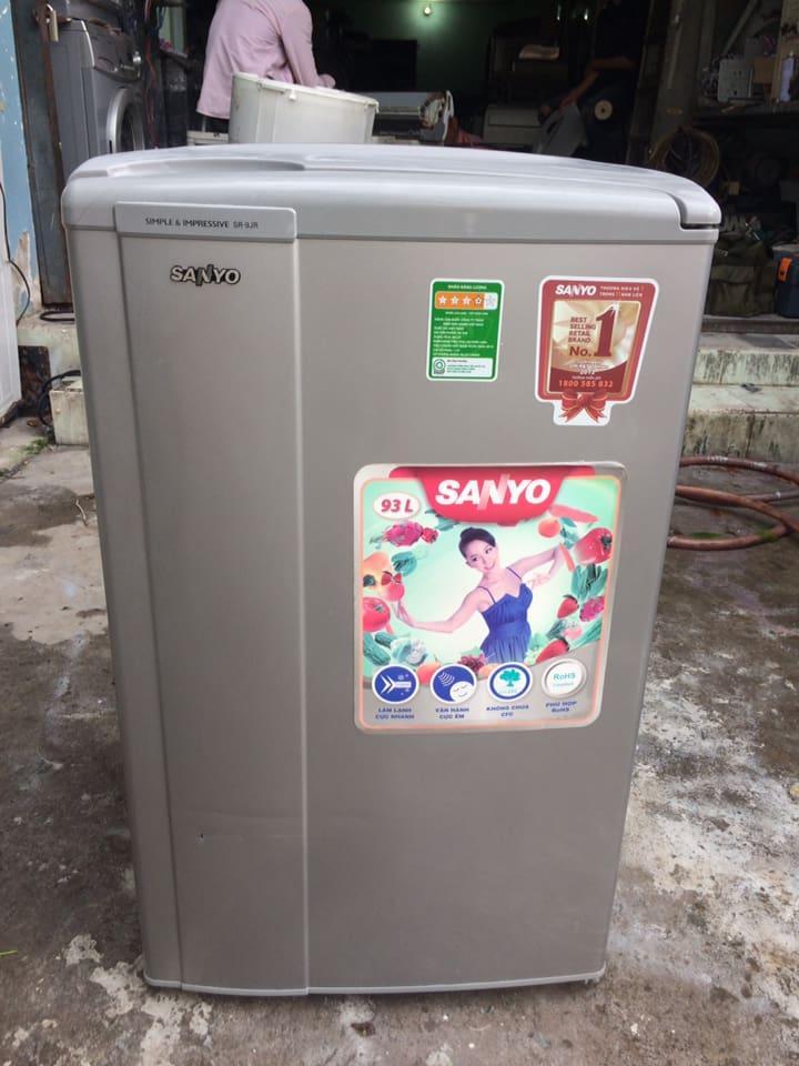 Tủ lạnh Sanyo SR-9JR (SS) 93 lít