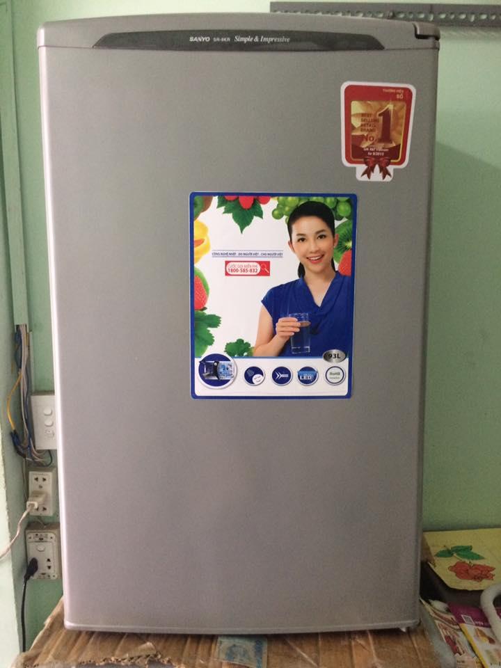 Tủ lạnh Sanyo SR-9KR 9(SL) 90 lít