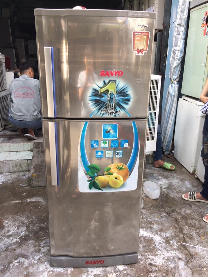 Tủ lạnh Sanyo SR-P25JN(SU) 245 lít mới 97%