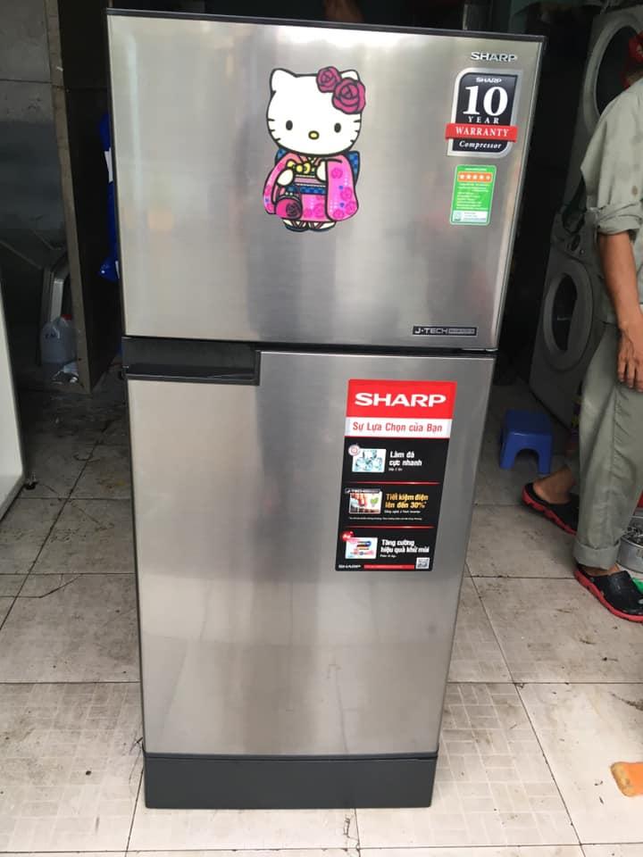 Tủ lạnh Sharp (165 lít) inverter tiết kiệm điện