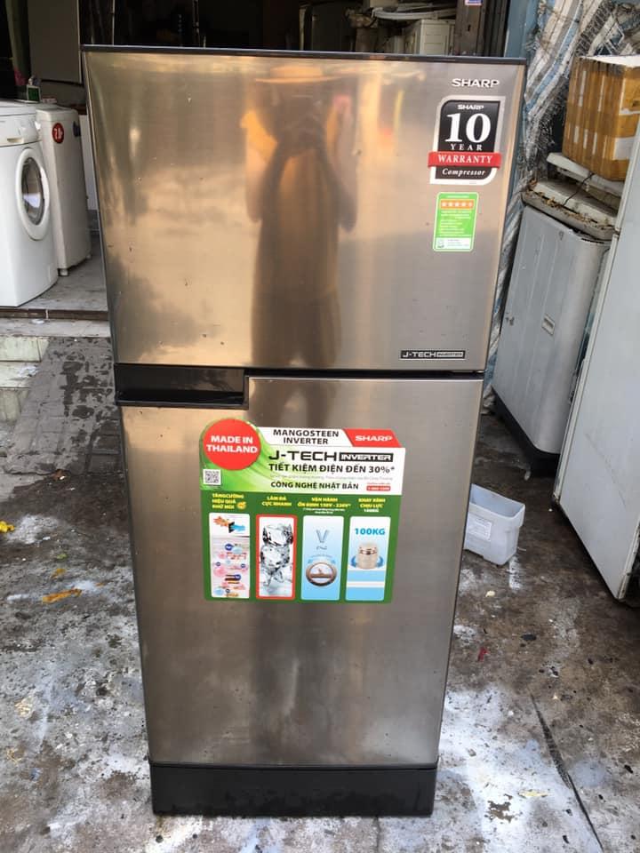 Tủ lạnh Sharp (165lit) Inverter không đóng tuyết