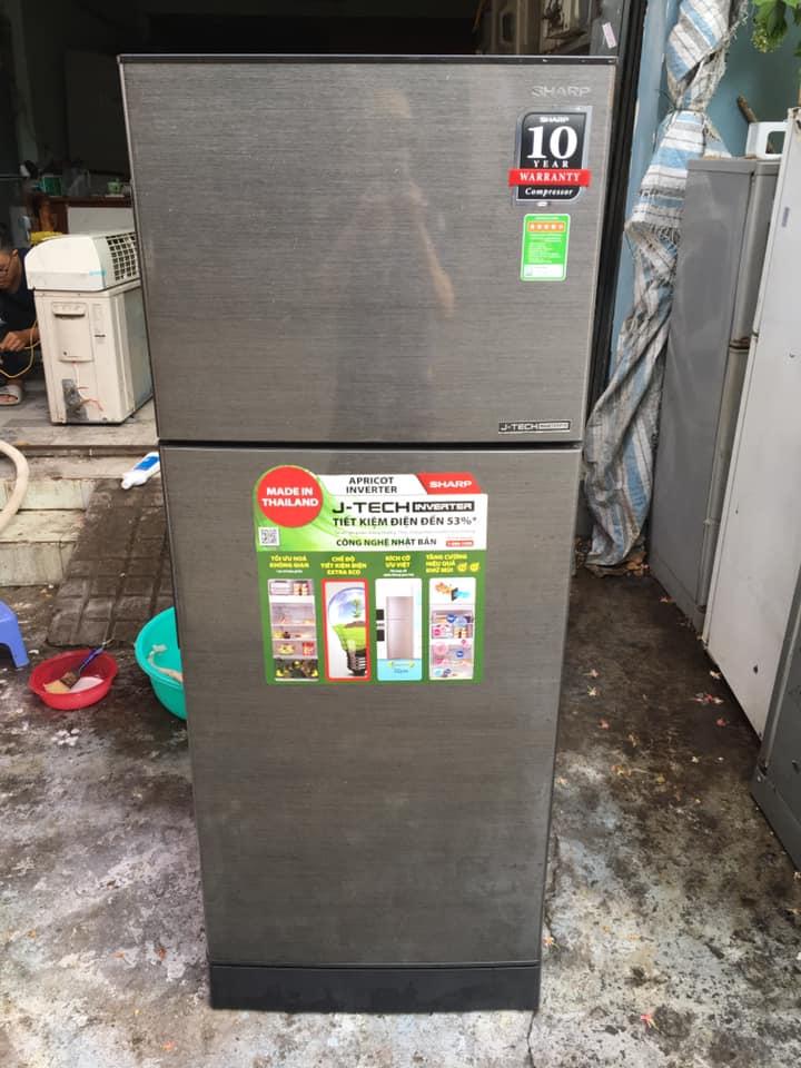 Tủ lạnh Sharp (196 lít) Inverter mới 97%