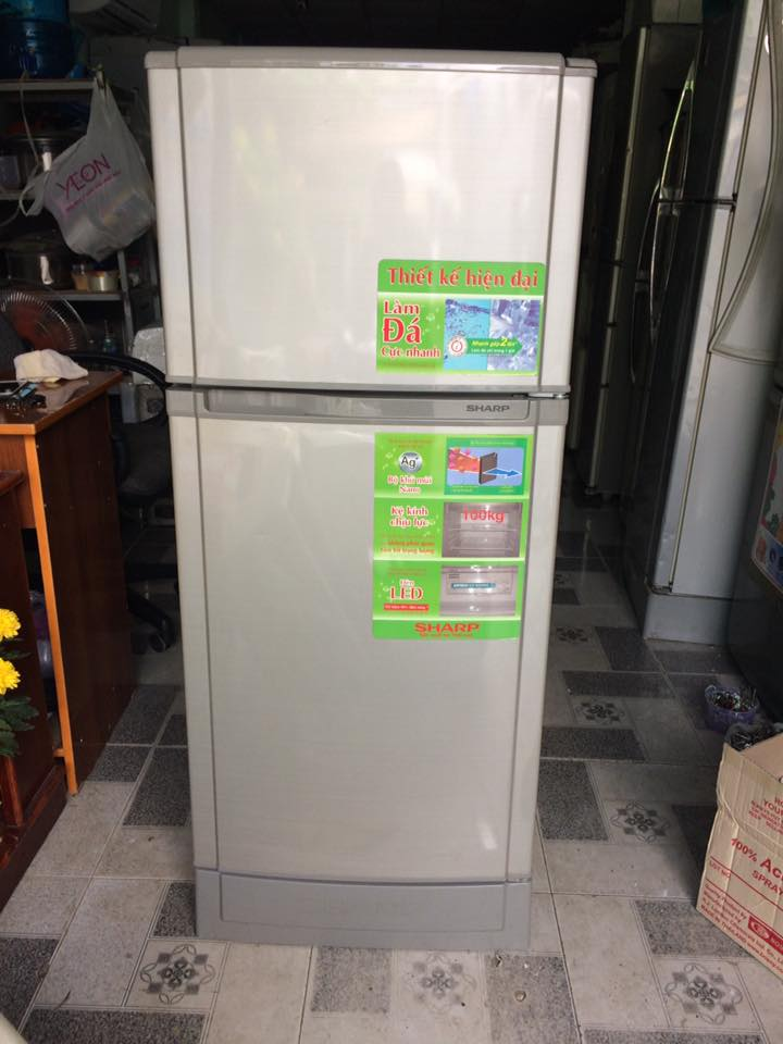 Tủ lạnh Sharp SJ-166S-SC 165 lít không đóng tuyết