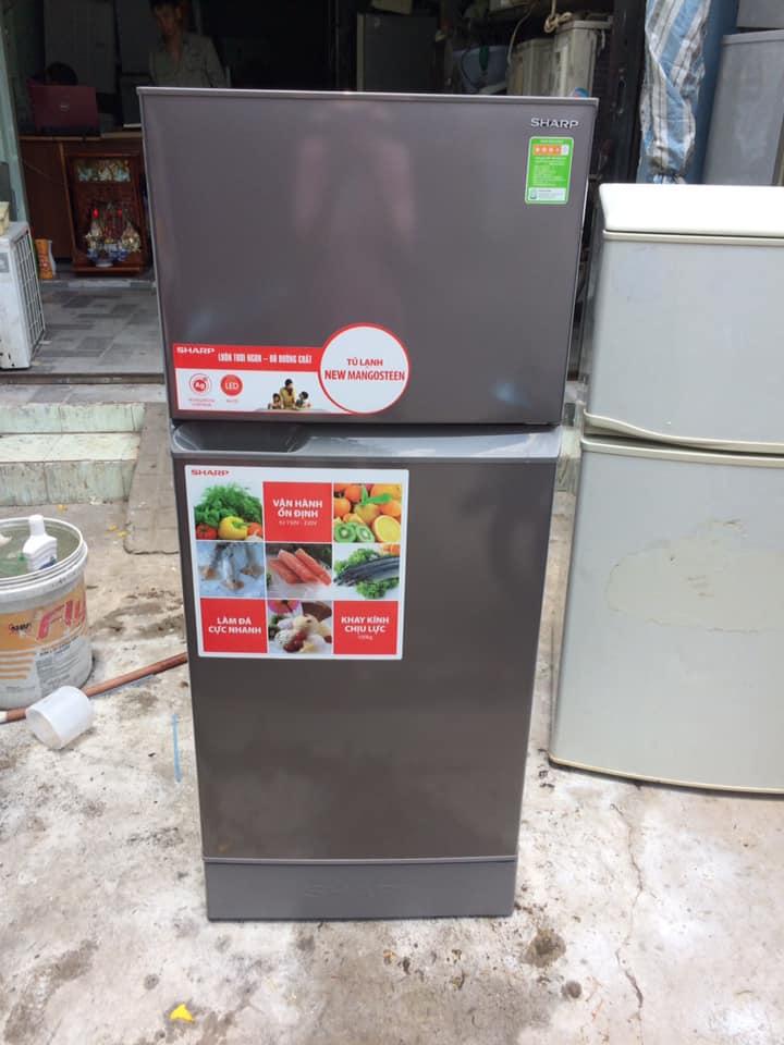 Tủ lạnh Sharp SJ-174EBS (165 lít) mới 98%