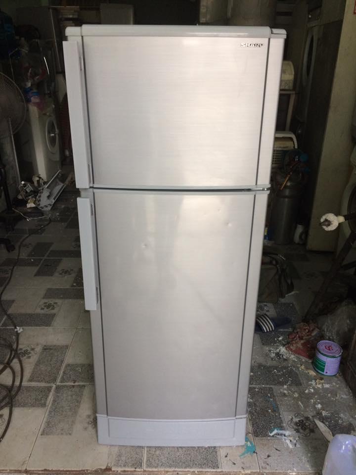 Tủ lạnh Sharp SJ-188S-SL 180 lít không đóng tuyết