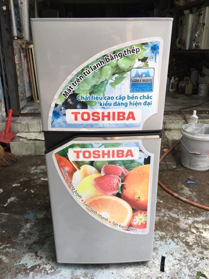 Tủ lạnh Toshiba (120 lít) không đóng tuyết