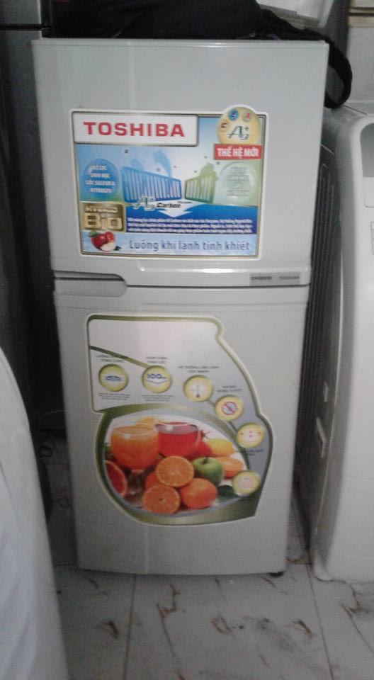 Tủ lạnh Toshiba 130 lít không đóng tuyết
