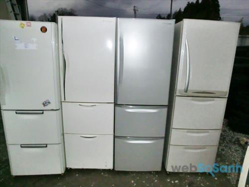 Tủ sửa tủ lạnh nội địa nhật cắm nhầm điện TPHCM
