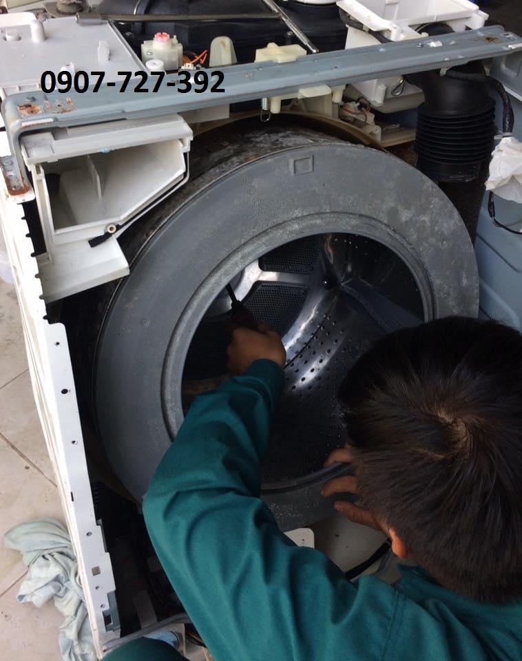Vệ sinh máy giặt huyện Hóc Môn-Vĩnh Lộc TPHCM giá rẻ