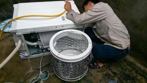 Vệ sinh máy giặt quận 5 trong 30 phút|vệ sinh máy giặt nội địa nhật quận 5